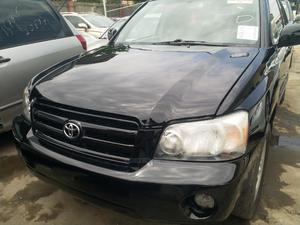 Toyota Highlander 2005 Black   Cars for sale in Lagos State, Ojodu