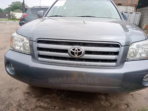 Toyota Highlander 2007 4x4 Blue | Cars for sale in Lagos State, Ikeja