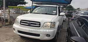 Toyota Sequoia 2002 White   Cars for sale in Lagos State, Lekki