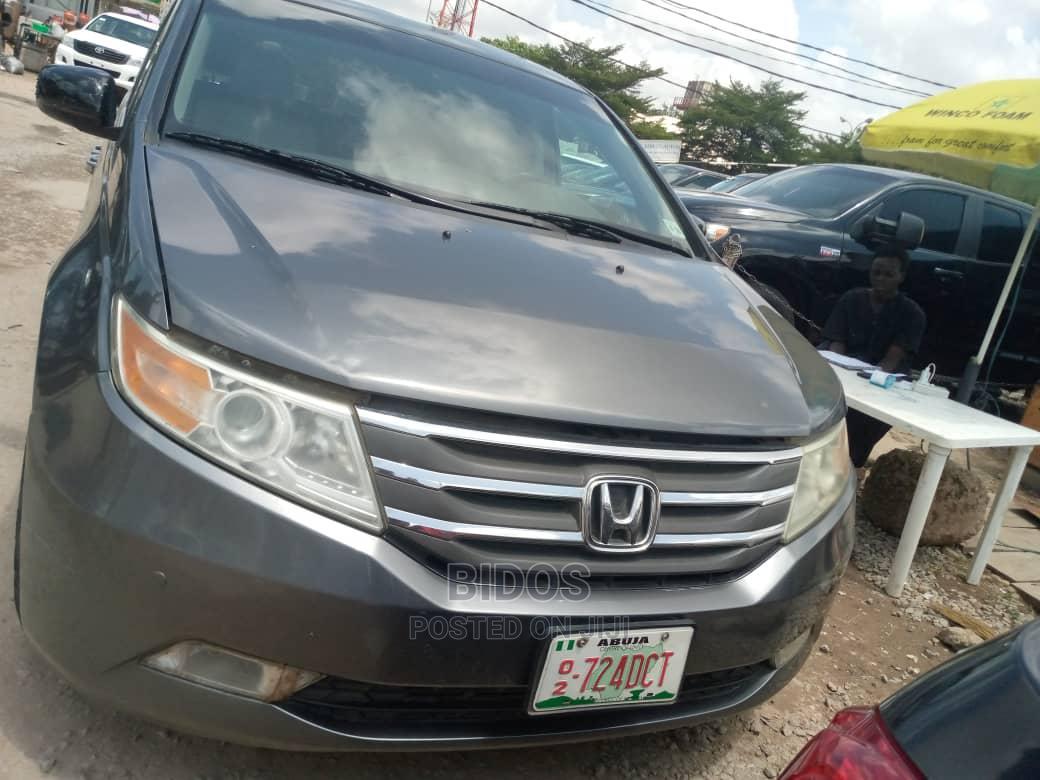 Archive: Honda Odyssey 2011 Touring Gray