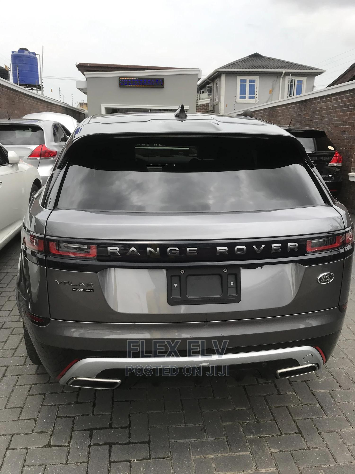 Land Rover Range Rover Velar 2018 P380 HSE R-Dynamic 4x4 Gray | Cars for sale in Surulere, Lagos State, Nigeria