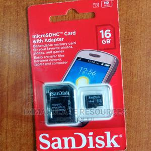 16hb Sandisk Memory Card | Accessories for Mobile Phones & Tablets for sale in Rivers State, Port-Harcourt