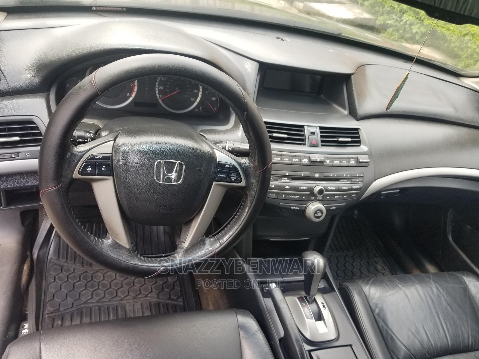 Archive: Honda Accord 2008 2.4 EX-L Automatic Gray