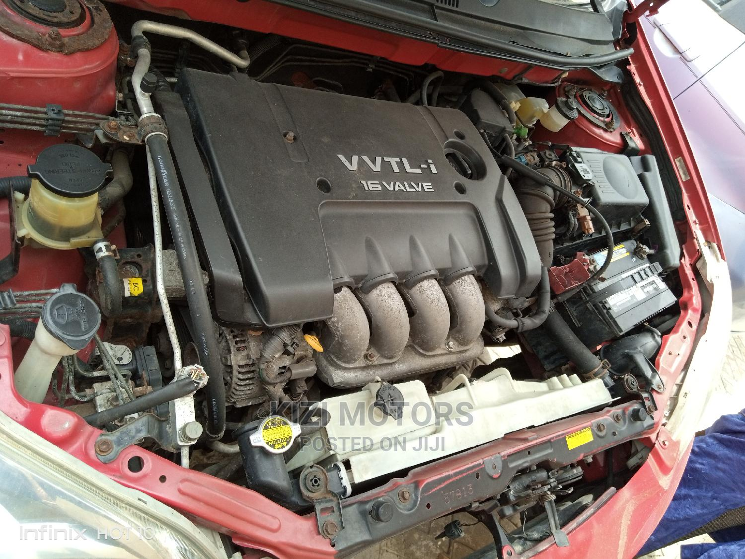 Toyota Matrix 2005 Red   Cars for sale in Isolo, Lagos State, Nigeria
