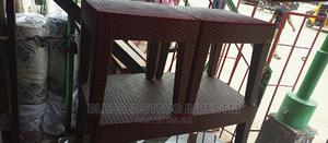 Plastic Center Table With Too Side Stool   Furniture for sale in Lagos State, Badagry