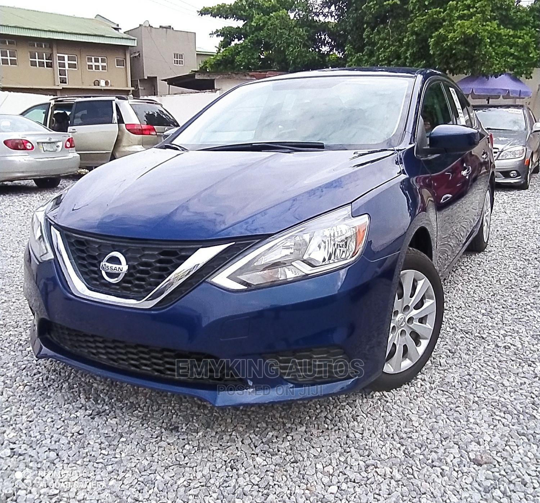 Nissan Sentra 2017 S Blue