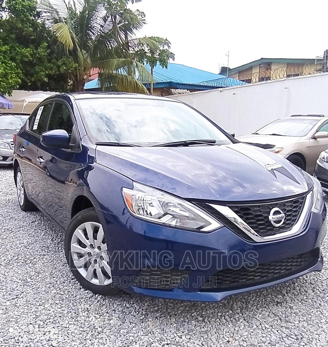 Nissan Sentra 2017 S Blue | Cars for sale in Ogudu, Lagos State, Nigeria