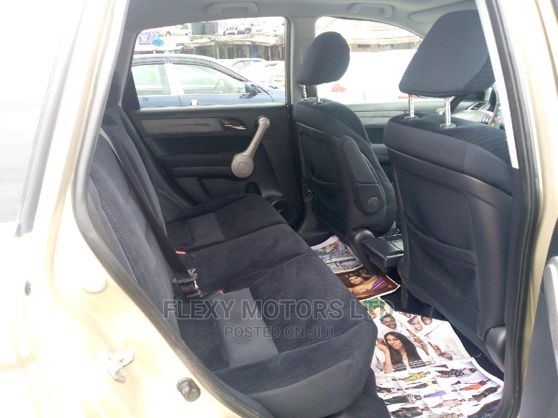 Archive: Honda CR-V 2008 2.4 LX 4x4 Automatic Gold