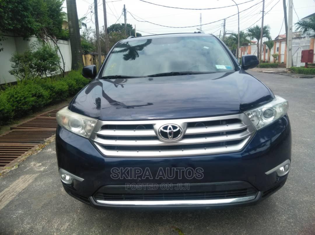 Toyota Highlander 2012 Limited Blue