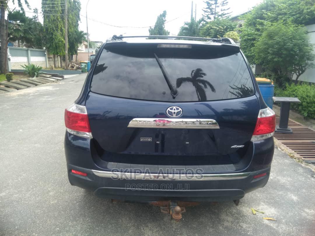 Toyota Highlander 2012 Limited Blue | Cars for sale in Jabi, Abuja (FCT) State, Nigeria