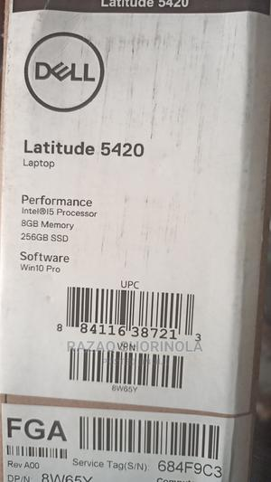 New Laptop Dell Latitude 14 5000 8GB Intel Core I5 SSD 256GB | Laptops & Computers for sale in Lagos State, Ikeja