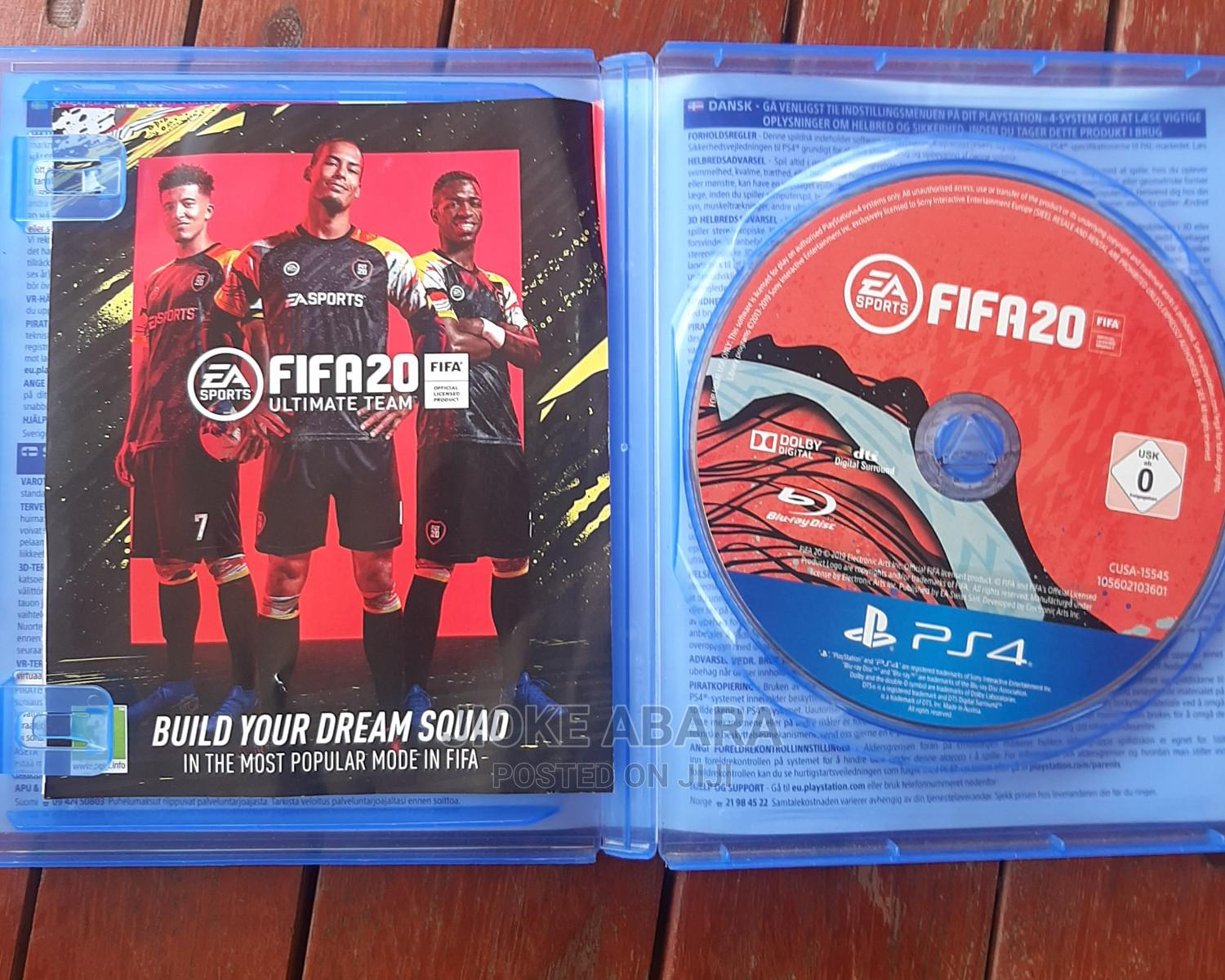 Archive: FIFA 20 Ps4