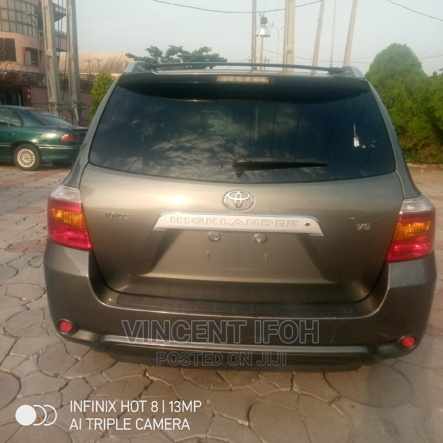 Toyota Highlander 2008 Limited Gray | Cars for sale in Amuwo-Odofin, Lagos State, Nigeria