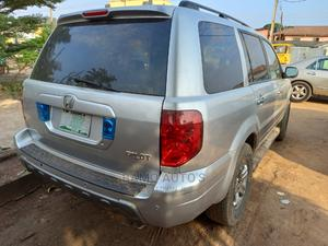 Honda Pilot 2004 EX 4x4 (3.5L 6cyl 5A) Silver | Cars for sale in Lagos State, Ojodu