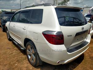 Toyota Highlander 2008 Sport White | Cars for sale in Lagos State, Ikotun/Igando