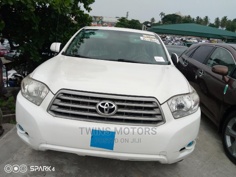 Toyota Highlander 2008 White