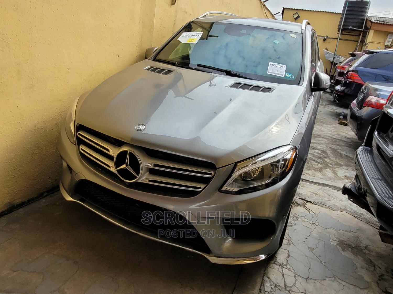 Mercedes-Benz GLE-Class 2016 Gray