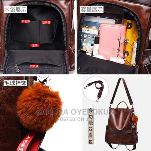 Quality Leather Fashionable Back Pack   Bags for sale in Lagos State, Alimosho