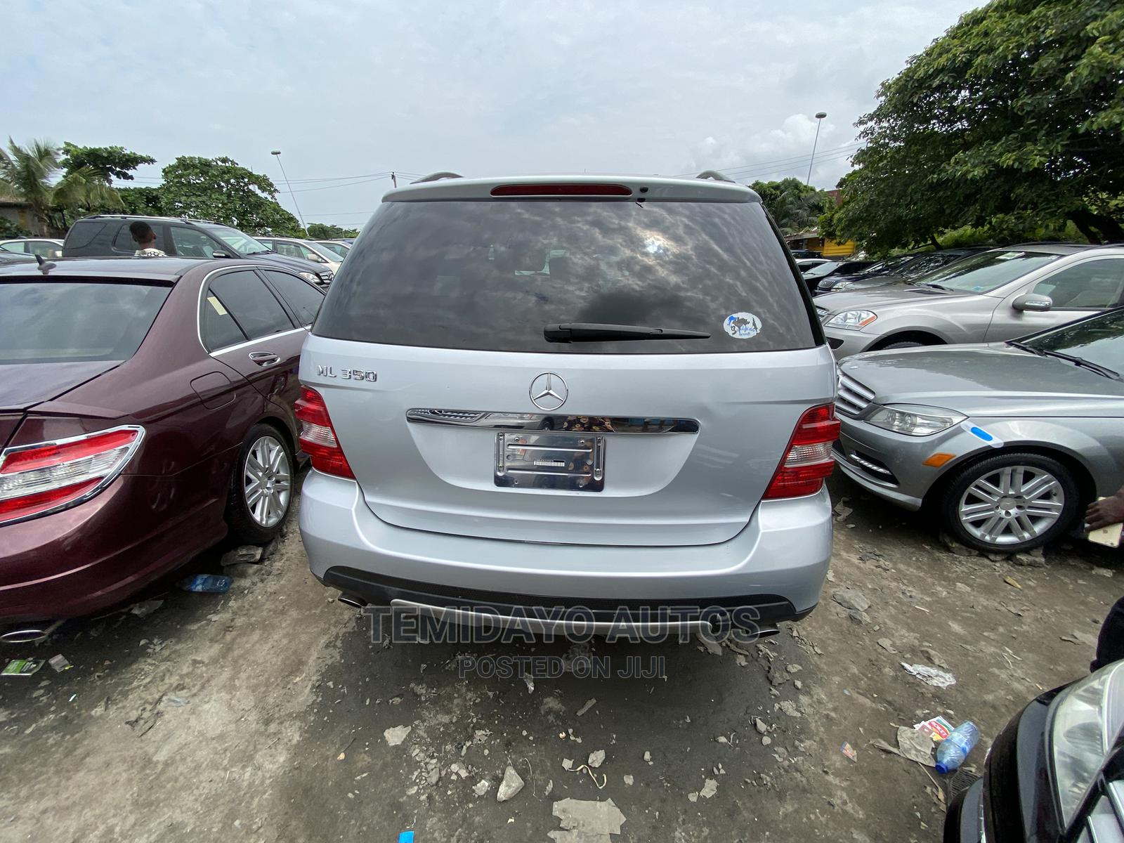 Mercedes-Benz M Class 2007 ML 350 4Matic Silver   Cars for sale in Apapa, Lagos State, Nigeria