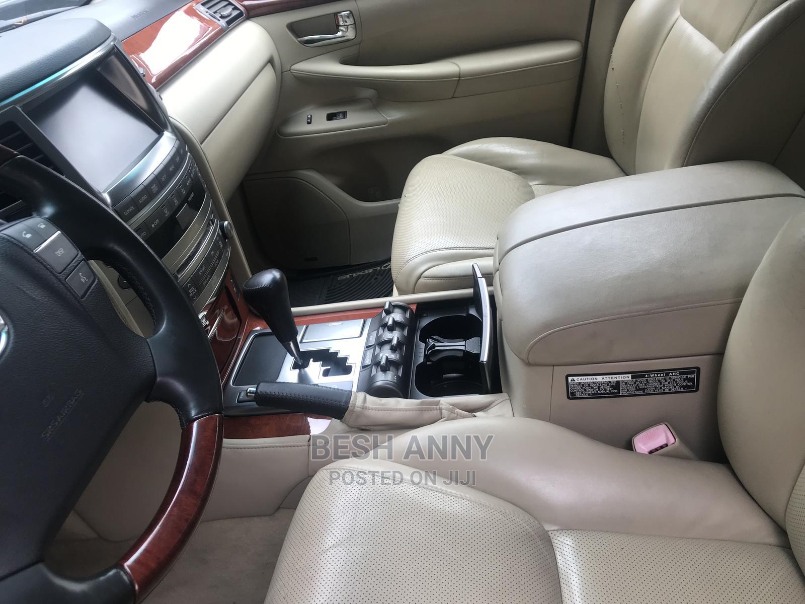 Lexus LX 2009 570 Gold   Cars for sale in Ajah, Lagos State, Nigeria