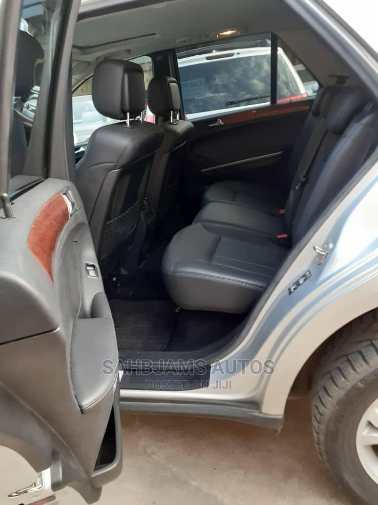 Mercedes-Benz M Class 2007 ML 350 4Matic Silver | Cars for sale in Isolo, Lagos State, Nigeria