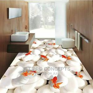 3D White Stone Epoxy Flooring   Wedding Venues & Services for sale in Lagos State, Ikoyi