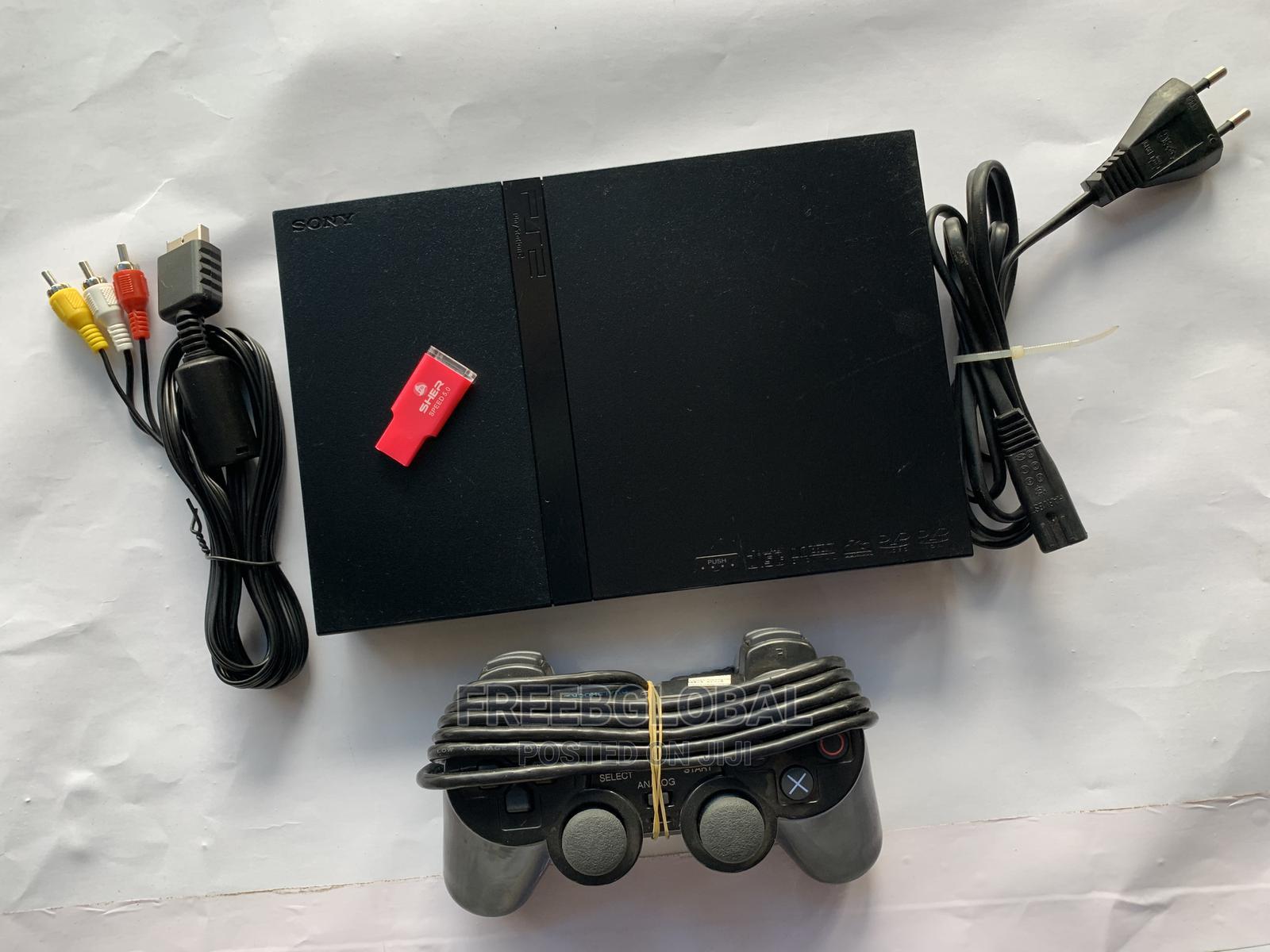 Ps2 Slim ( Playstation 2 Slim) | Video Game Consoles for sale in Agboyi/Ketu, Lagos State, Nigeria