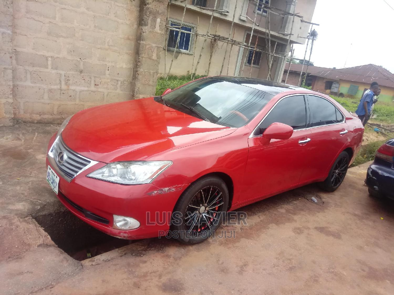Lexus ES 2008 350 Red   Cars for sale in Benin City, Edo State, Nigeria