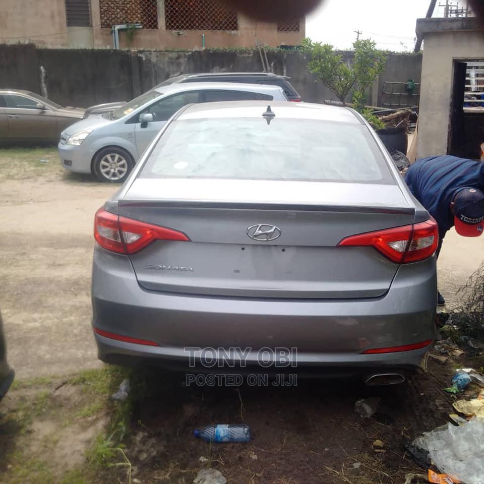 Hyundai Sonata 2017 Blue   Cars for sale in Amuwo-Odofin, Lagos State, Nigeria