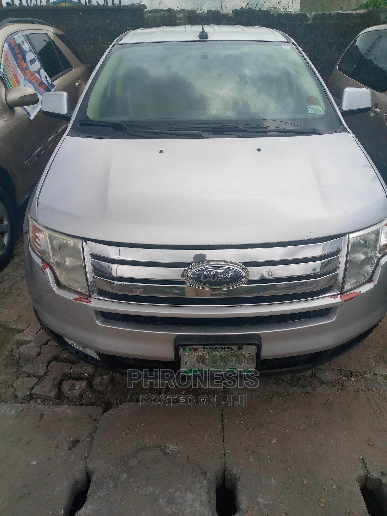 Archive: Ford Edge 2008 Silver