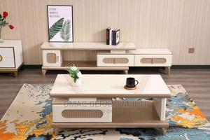 Console Tv Stand With Center Table | Furniture for sale in Lagos State, Lagos Island (Eko)