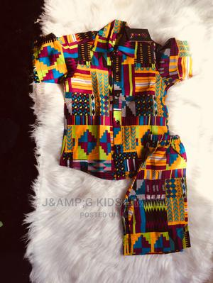 Ankara Boys Shirt and Short | Children's Clothing for sale in Lagos State, Lekki