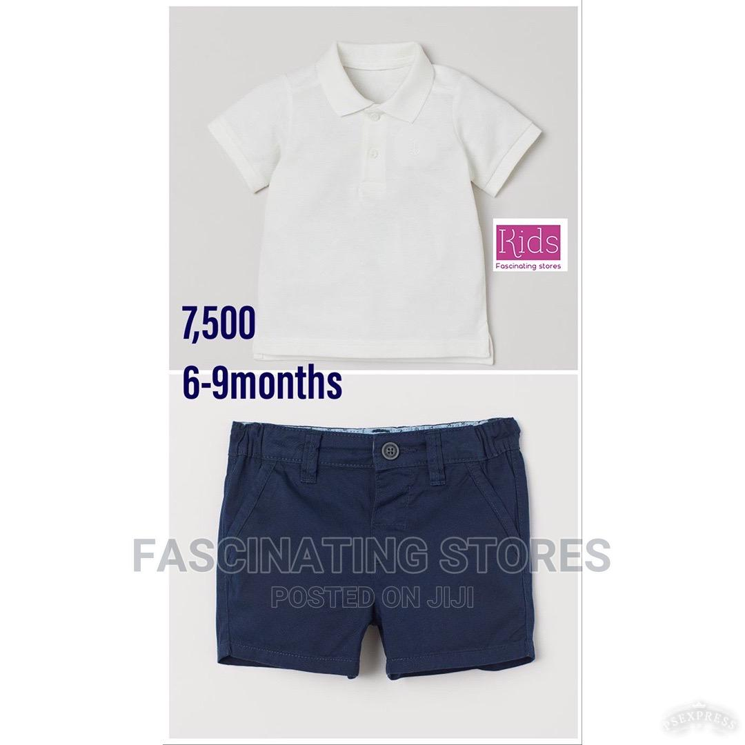 Boys Shirt and Trousers