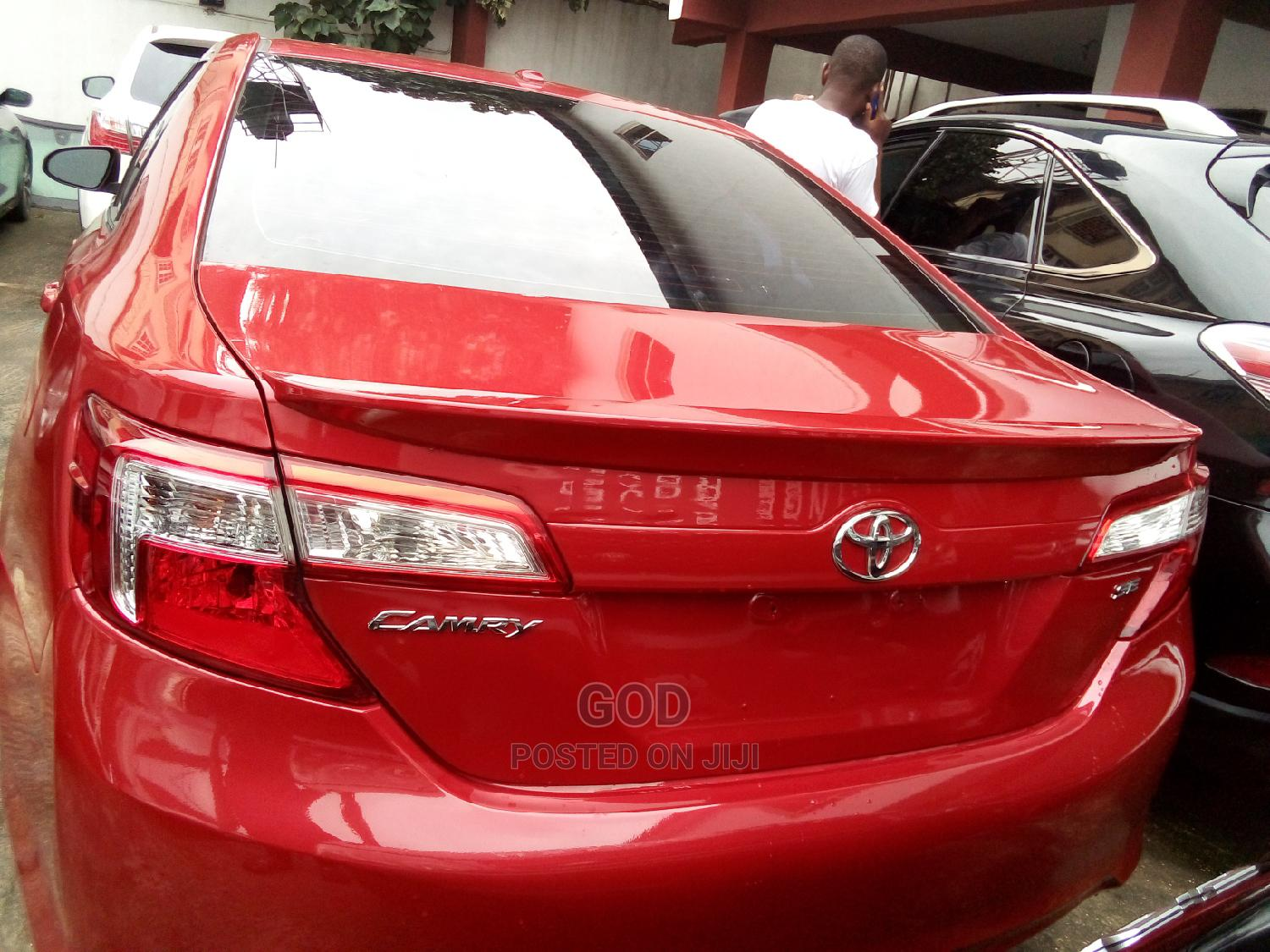 Toyota Camry 2013 Red | Cars for sale in Ikeja, Lagos State, Nigeria