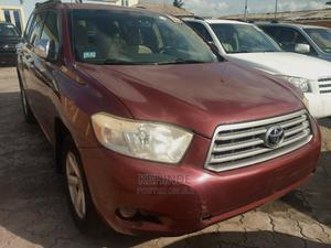 Toyota Highlander 2008 4x4 Red | Cars for sale in Lagos State, Ojo