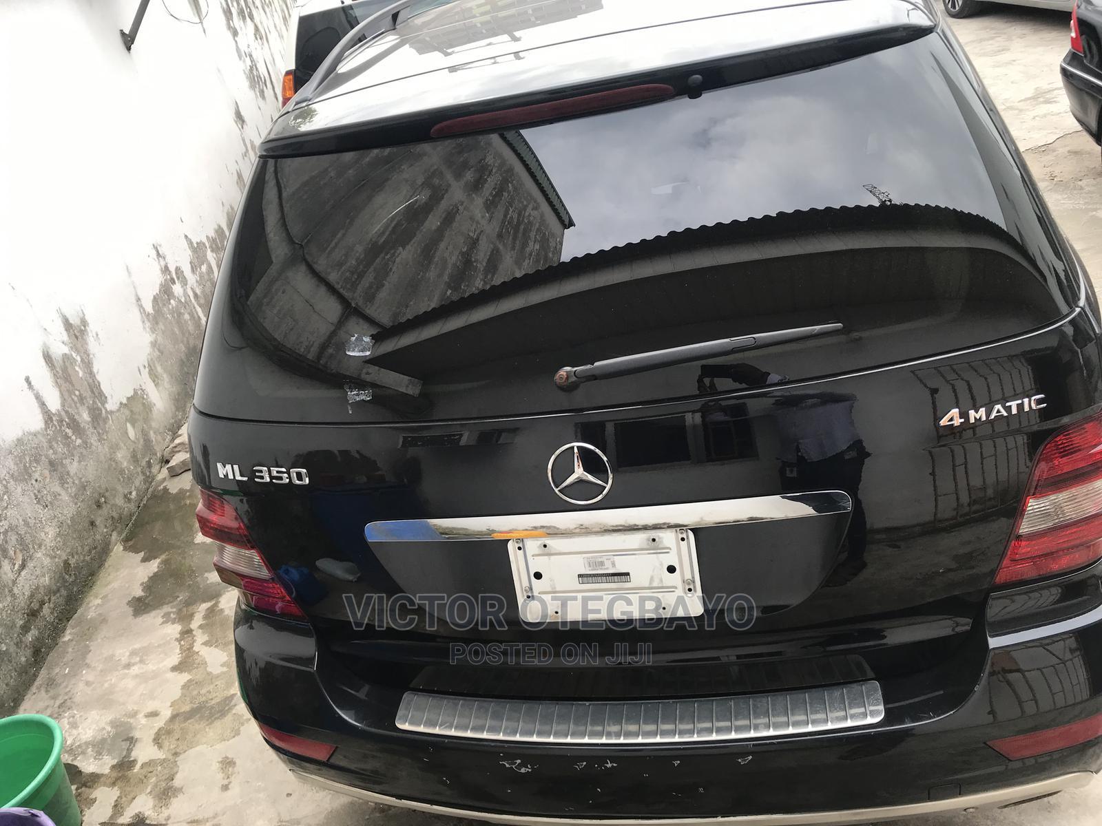 Mercedes-Benz M Class 2010 ML 350 4Matic Black | Cars for sale in Ikeja, Lagos State, Nigeria