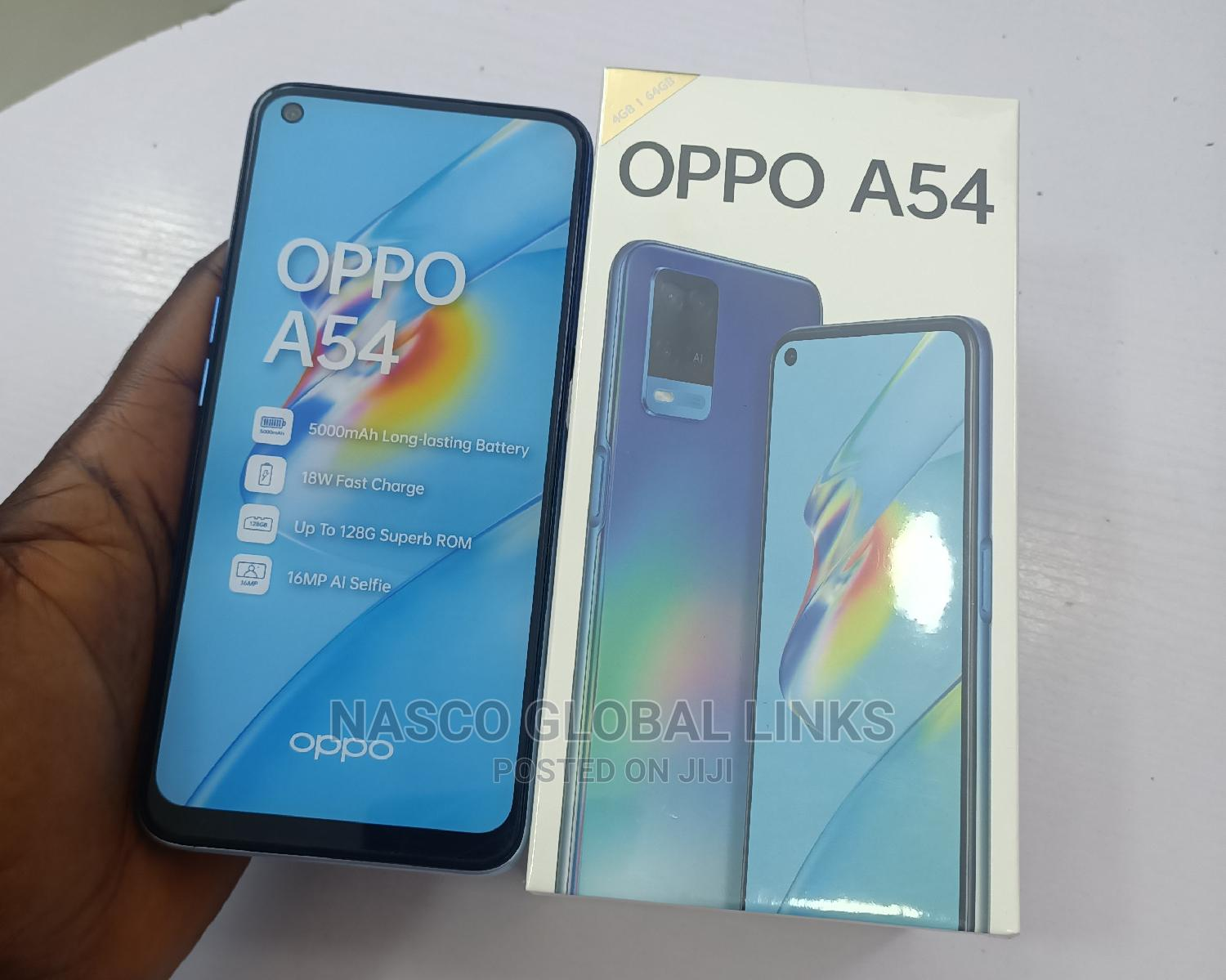 Archive: New Oppo A54 64 GB Blue