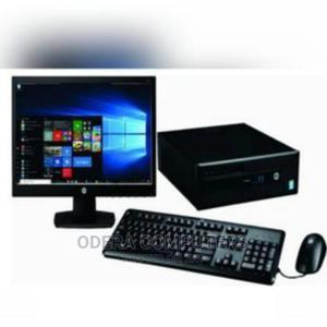 "Hp-Intel Core Dual Core 4GB Ram -500gb HDD- 10 Pro 18.5""   Computer Monitors for sale in Lagos State, Ikeja"