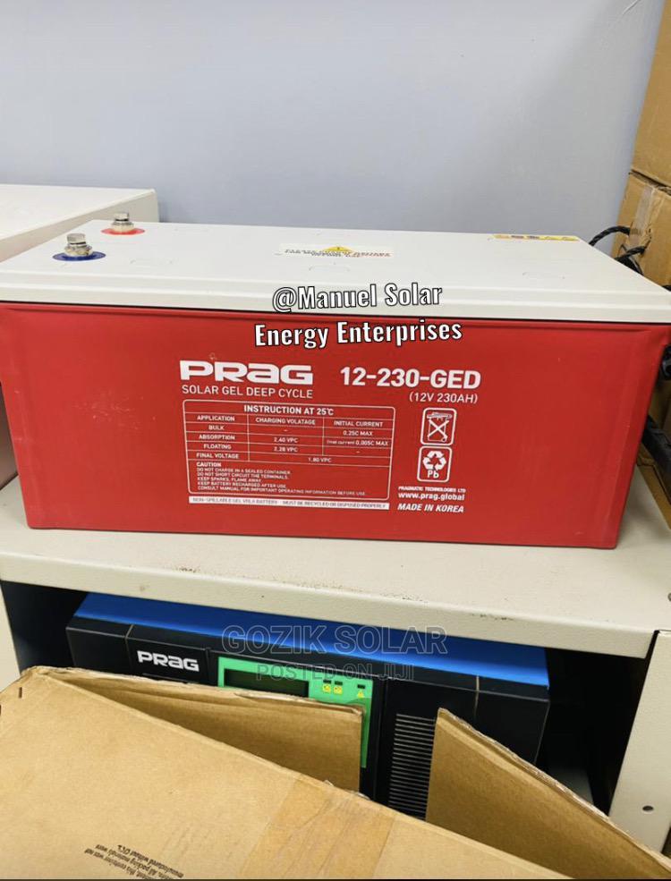 Prag Inverter Batteries 200A 12v | Solar Energy for sale in Ojo, Lagos State, Nigeria