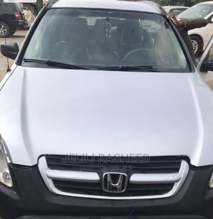 Honda CR-V 2003 EX 4WD Automatic Silver | Cars for sale in Lagos State, Abule Egba