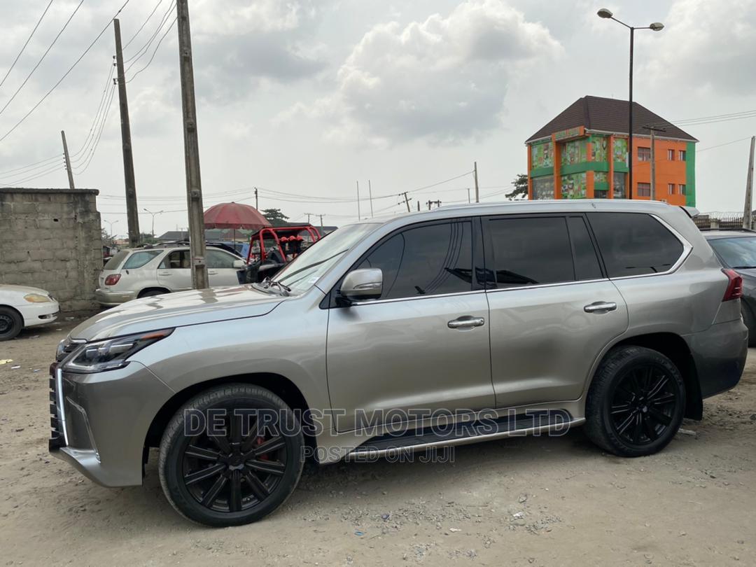 Lexus LX 2016 570 (5 Seats) AWD Gray | Cars for sale in Amuwo-Odofin, Lagos State, Nigeria