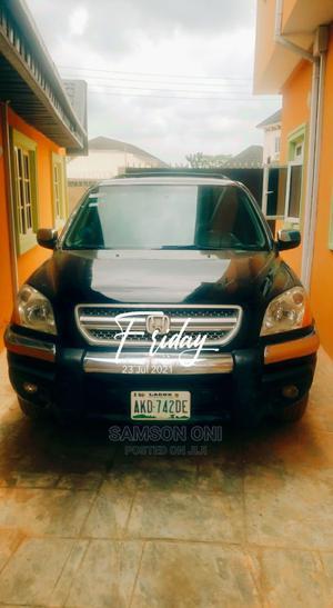Honda Pilot 2004 EX-L 4x4 (3.5L 6cyl 5A) Black   Cars for sale in Ogun State, Obafemi-Owode