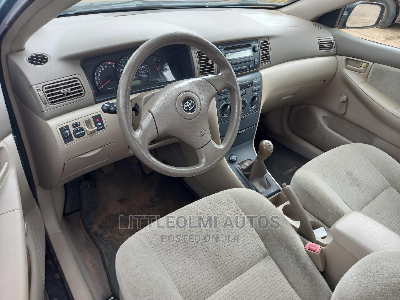 Toyota Corolla 2006 CE Blue   Cars for sale in Ifako-Ijaiye, Lagos State, Nigeria