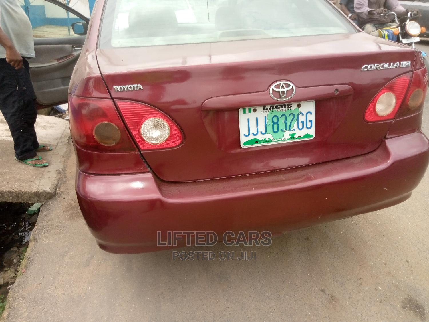 Archive: Toyota Corolla 2003 Red
