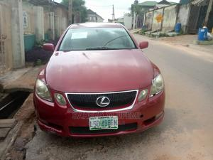 Lexus GS 2008 Red   Cars for sale in Lagos State, Ikeja