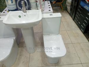Square England WC and Wash Hand Basin | Plumbing & Water Supply for sale in Lagos State, Orile