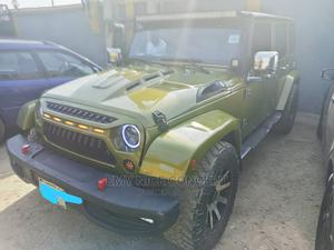 Jeep Wrangler 2007 3.8 Sahara Gold   Cars for sale in Lagos State, Amuwo-Odofin