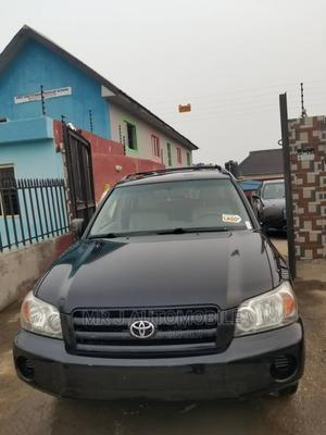 Toyota Highlander 2006 V6 Black   Cars for sale in Lagos State, Isolo