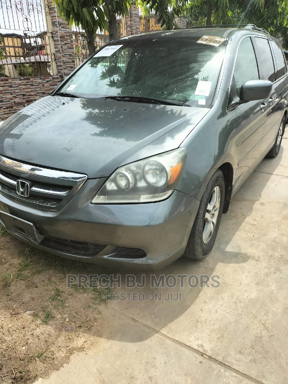 Honda Odyssey 2007 LX Gray
