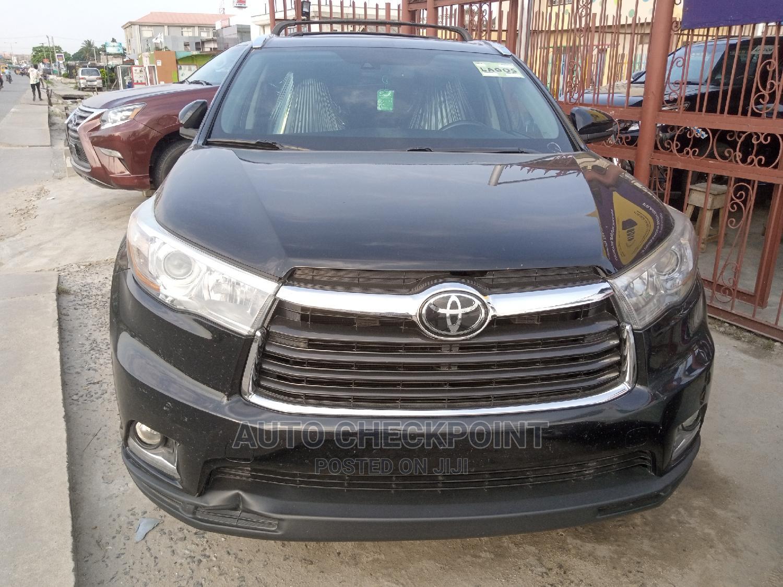 Toyota Highlander 2017 Black